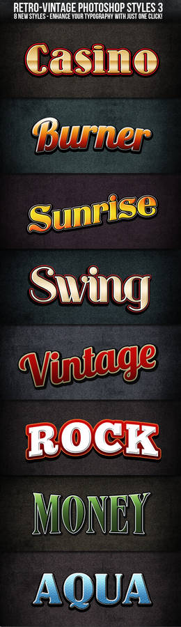 Retro-Vintage Styles 3