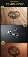 Photorealistic Logo Mock-Up Pack 2