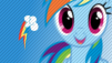 Rainbow Dash stamp by AmazingPony