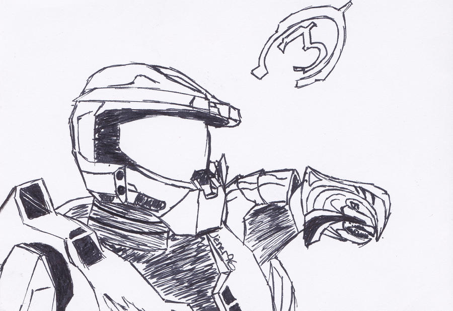 Halo 3 : Arby and The Chief by Jener96