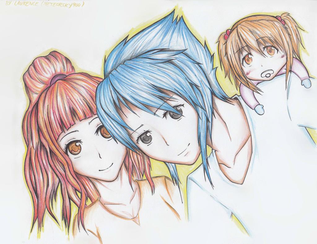 Anime Family Dream ! by meteorsky900 on DeviantArt