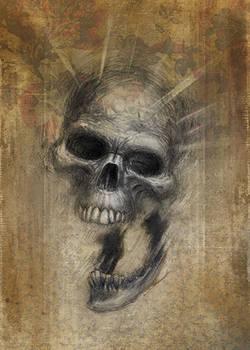 Drawlloween skull color