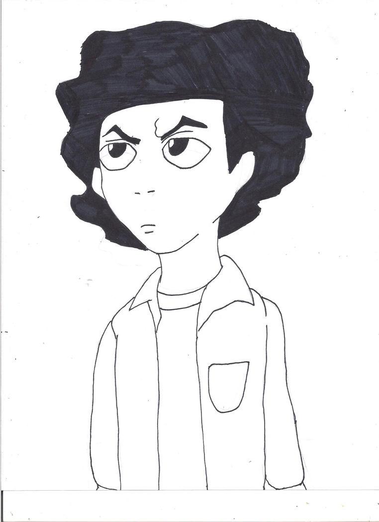 Huey Freeman by SsjxEd