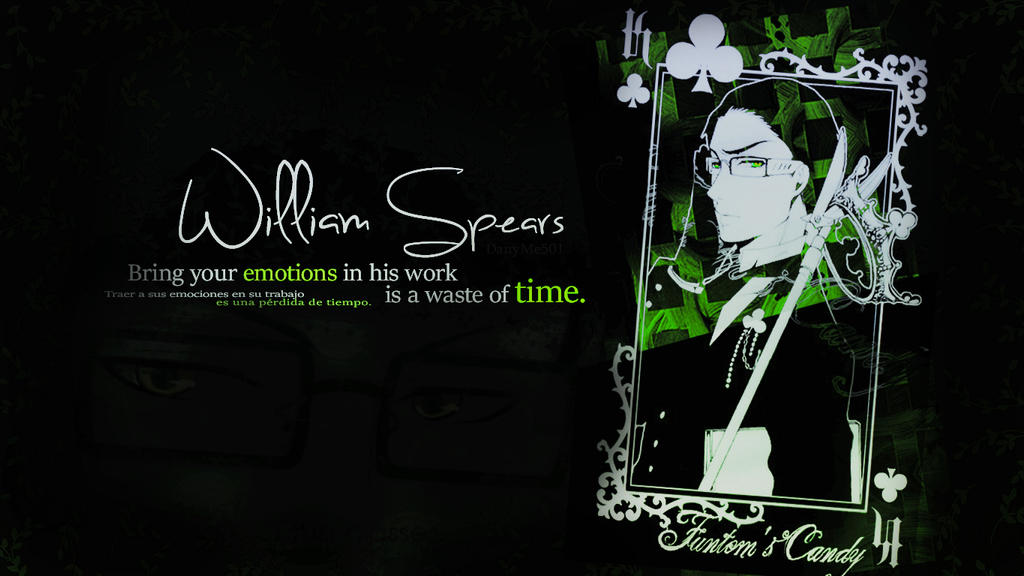 William T. Spears   Wallpaper by DanyMe501 on DeviantArt