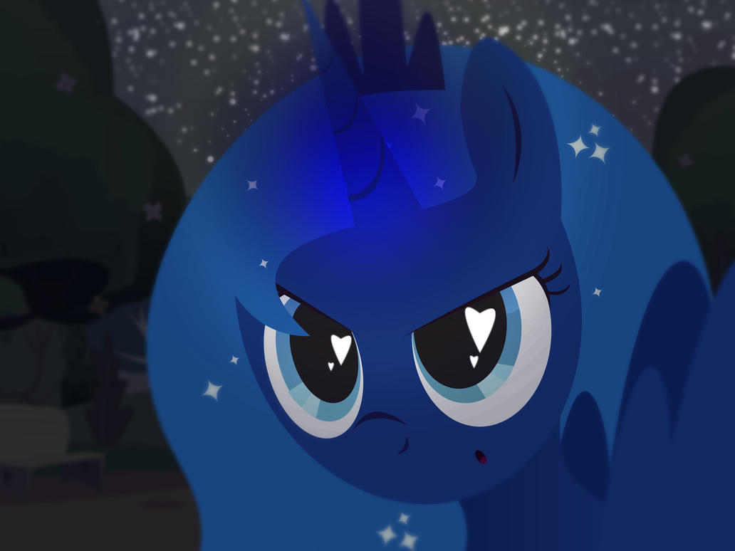 Filly Luna Runs Away by CreativPony
