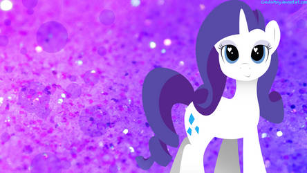 Simple Rarity Wallpaper by CreativPony