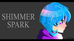 ShimmerSpark Side Portrait by CreativPony