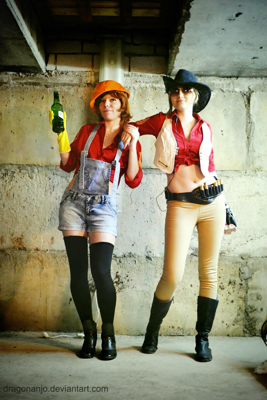 Team Fortress 2 Fem! by dragonanjo