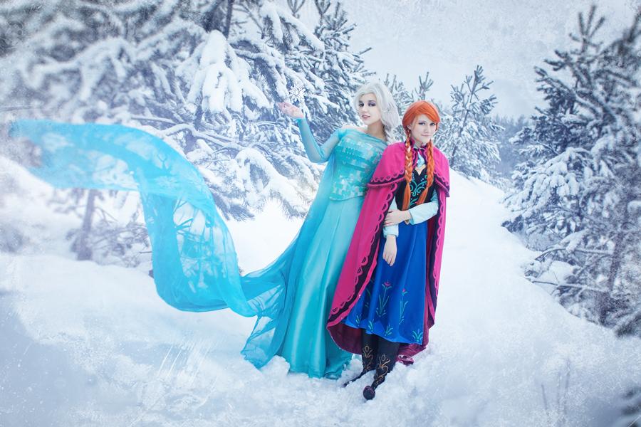 Frozen by dragonanjo