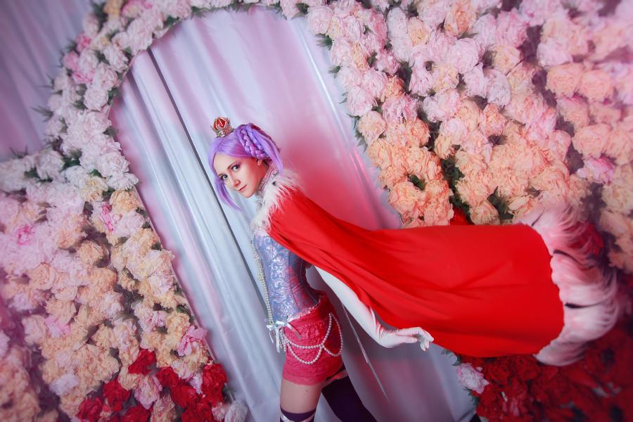 The purple princess by dragonanjo