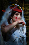 Princess Mononoke by dragonanjo