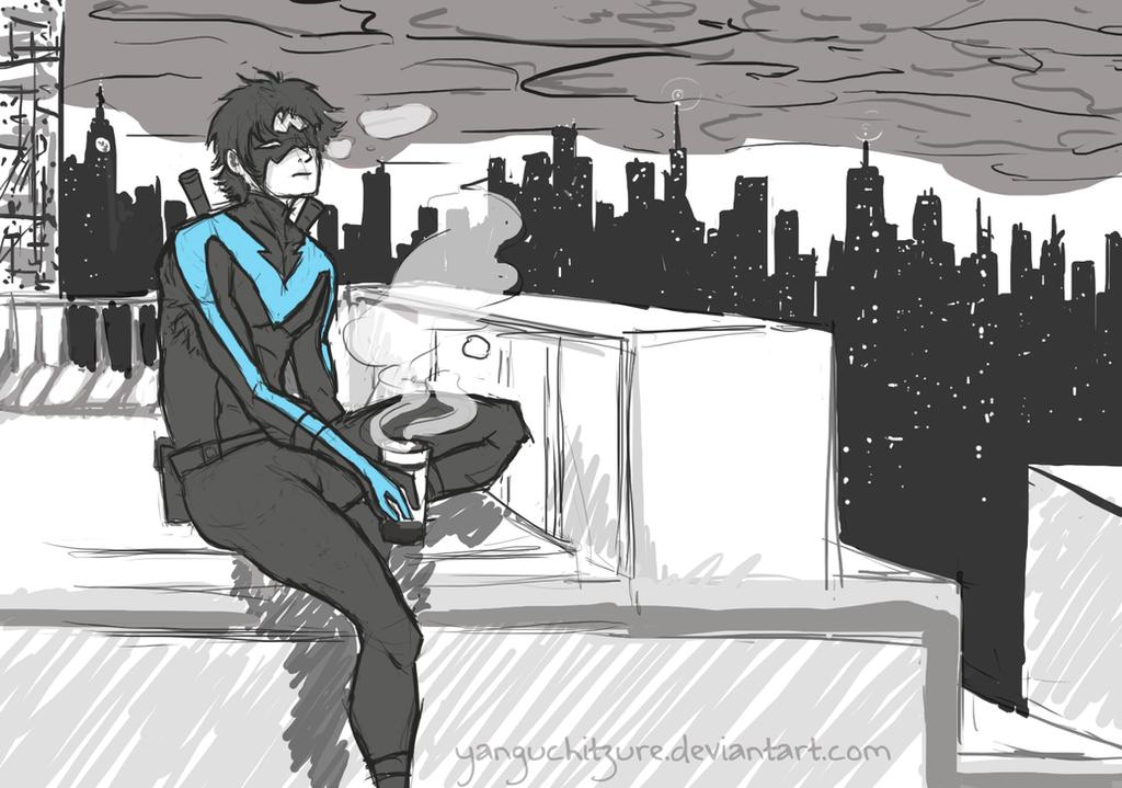 Rooftop by Yanguchitzure
