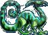 Dino (pixel) by Yanguchitzure