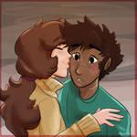 Kiss by YanguLaRoo