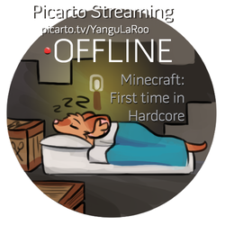 Picarto- Minecraft Hardcore Streaming (Offline)