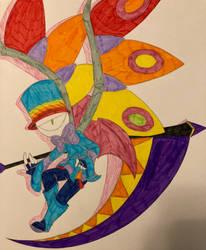 Rainbow Glazed Doodle Demon