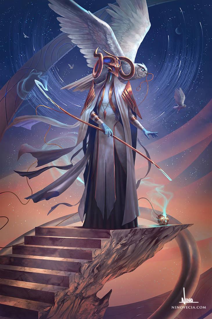 Khuldius, Wisdom's Embrace by ninovecia