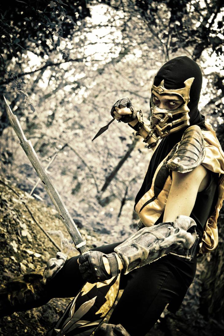 Scorpion - Mortal Kombat by Lu1-g