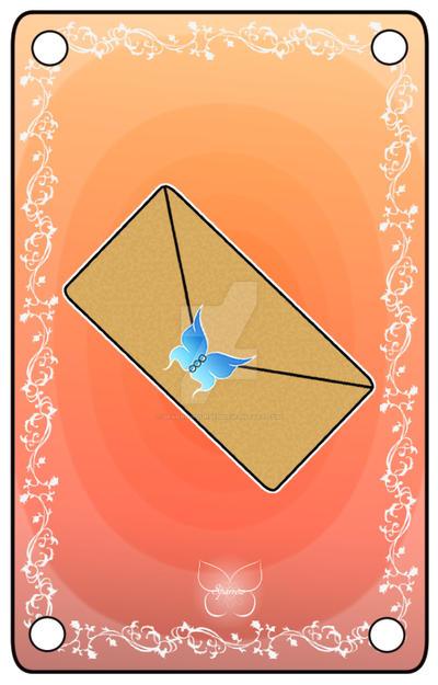 Couverture : Recueil de lettre by SparrowCursed