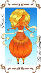 Physalia fee des lanternes