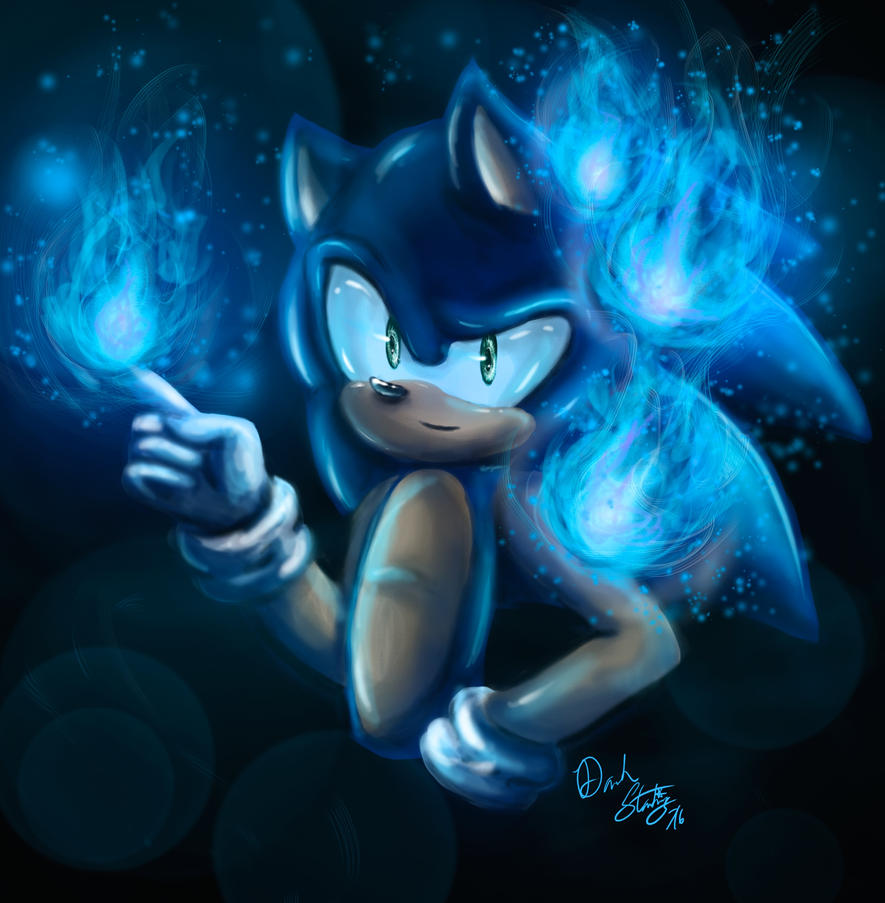 Sonic's Flames by DarkStarling716