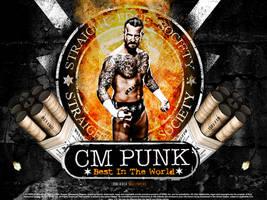 CM Punk Dynamite Wallpaper by SoulRiderGFX