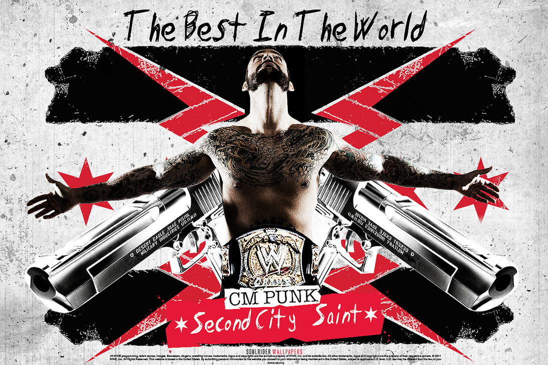 Cm punk best in the world wallpaper by soulridergfx on deviantart cm punk best in the world wallpaper by soulridergfx voltagebd Image collections