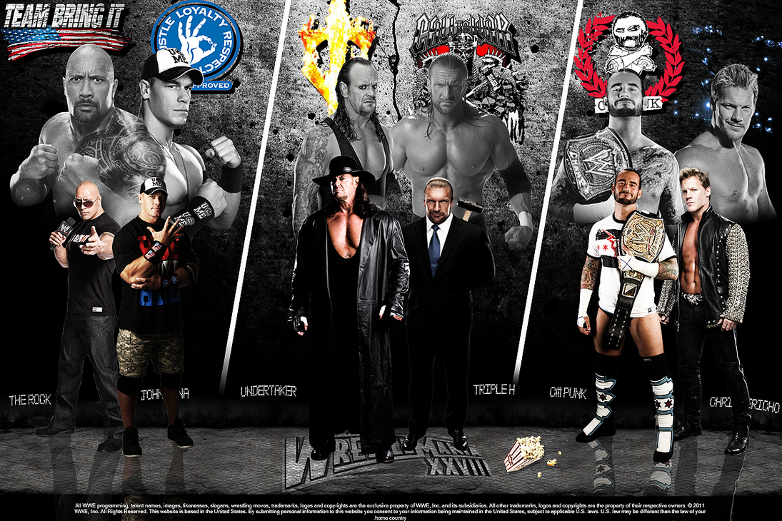 WWE Wrestlemania 28 Wallpaper by SoulRiderGFX