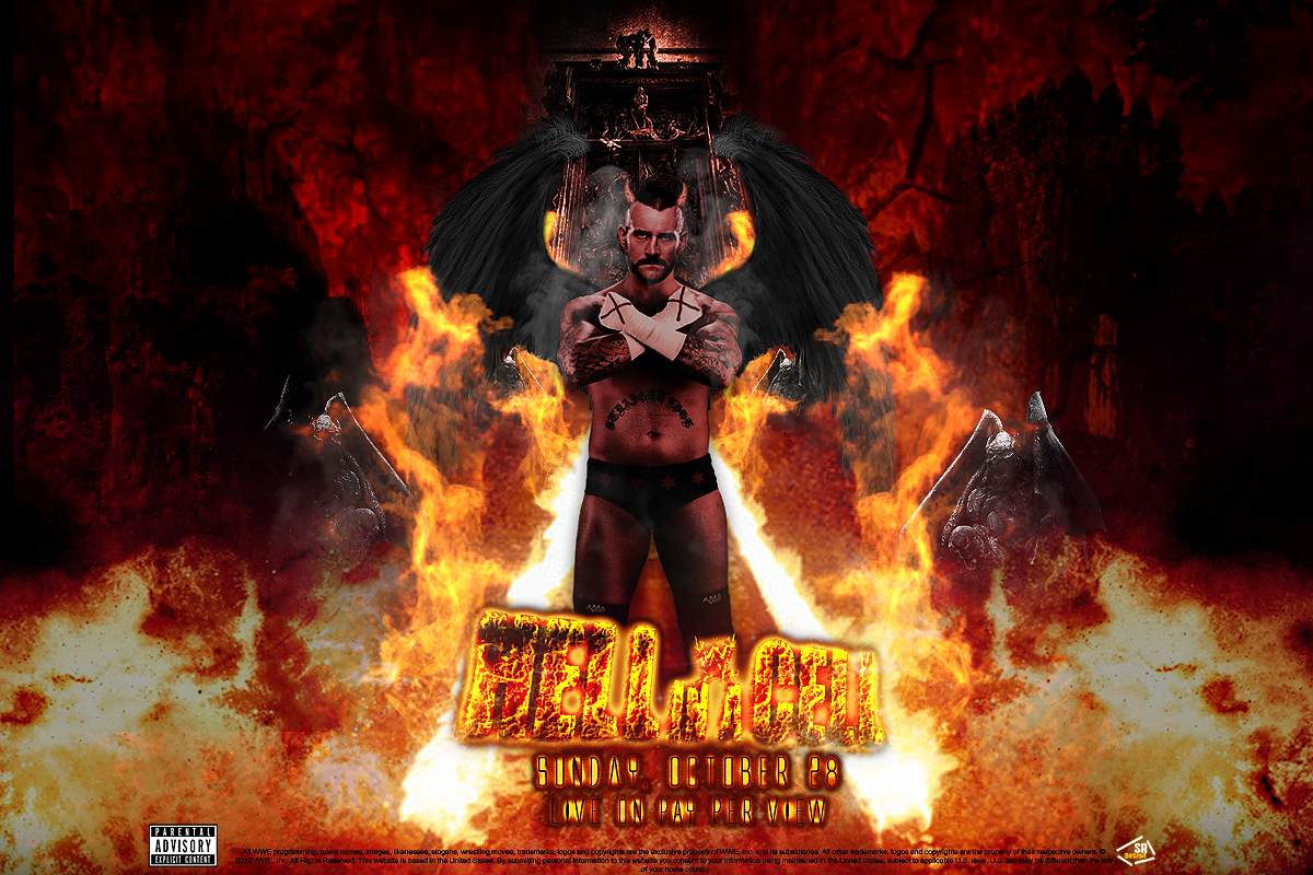 WWE Hell In A Cell 2012 Wallpaper by SoulRiderGFX