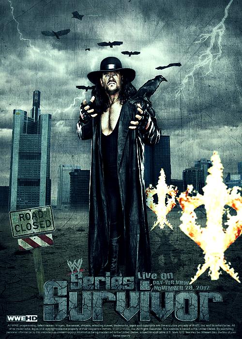 WWE Survivor Series 2012 Poster by SoulRiderGFX