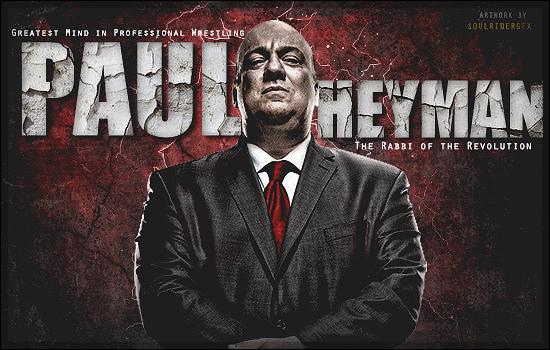 Paul Heyman Signature by SoulRiderGFX