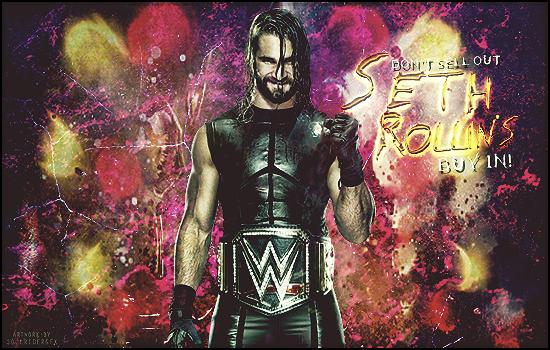 Seth Rollins Signature by SoulRiderGFX