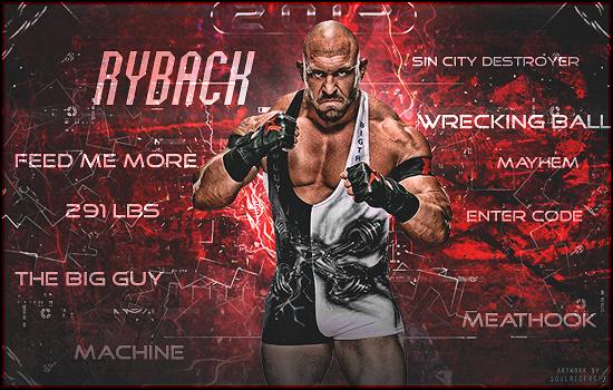 Ryback Signature 2015 by SoulRiderGFX