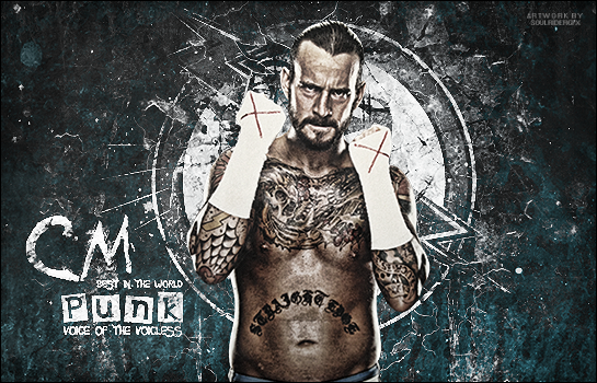 CM Punk Signature 2015 by SoulRiderGFX