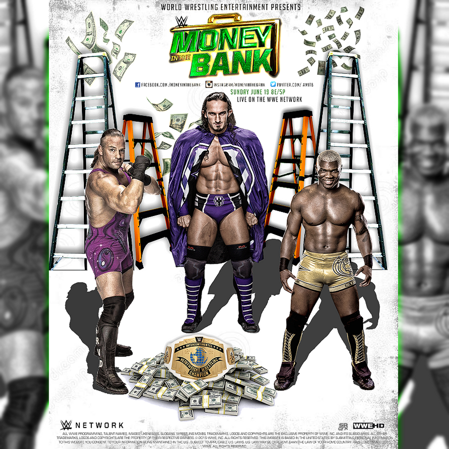 WWE MITB Triple Threat Poster by SoulRiderGFX