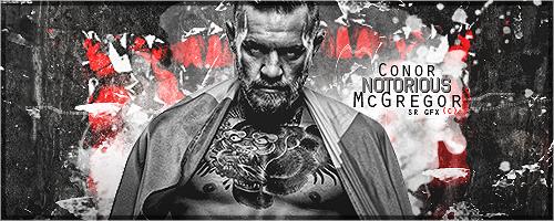 Conor McGregor Signature by SoulRiderGFX