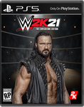 WWE 2K21 Video Game Cover: The Chosen One Edition by SoulRiderGFX