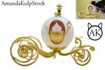 Fantasy Carriage PNG (Pre Cut)