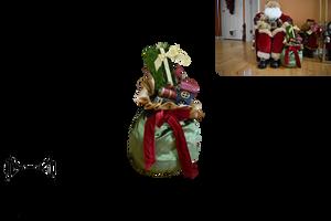 Santa's Bag PNG by AmandaKulpStock