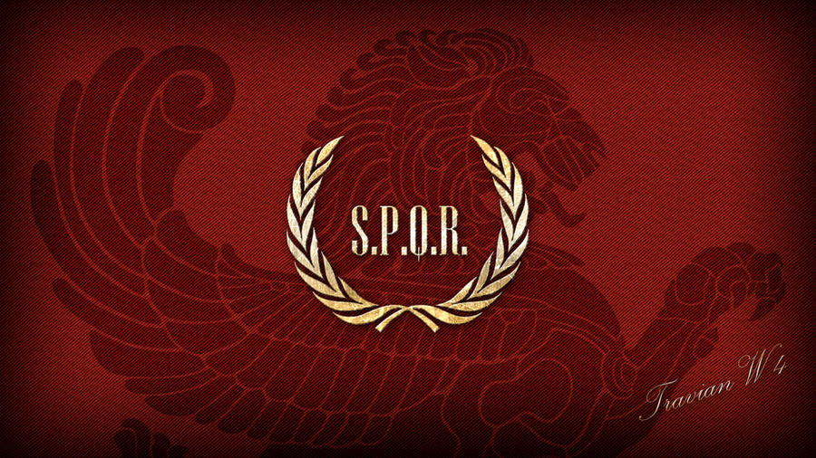 SPQR Wallpaper by grauton
