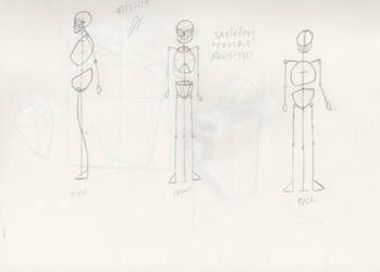 Figure Draw - Skeleton Revisited by WholisticArtist