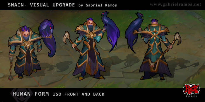 LoL - Swain Visual Upgrade