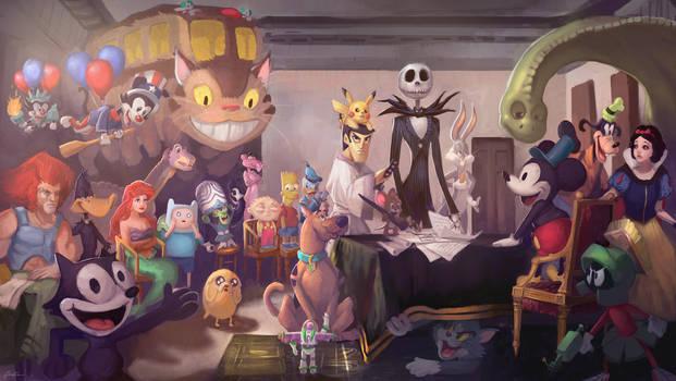History of Animation by GabeRamos