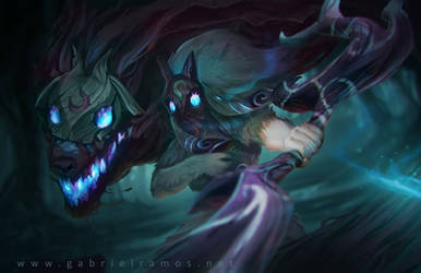 Kindred - League of Legends FanArt