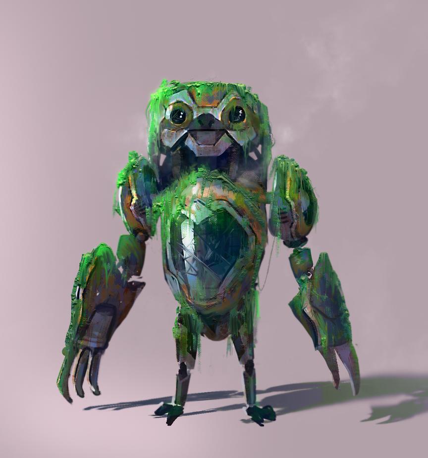 Old Robo Sloth by GabeRamos