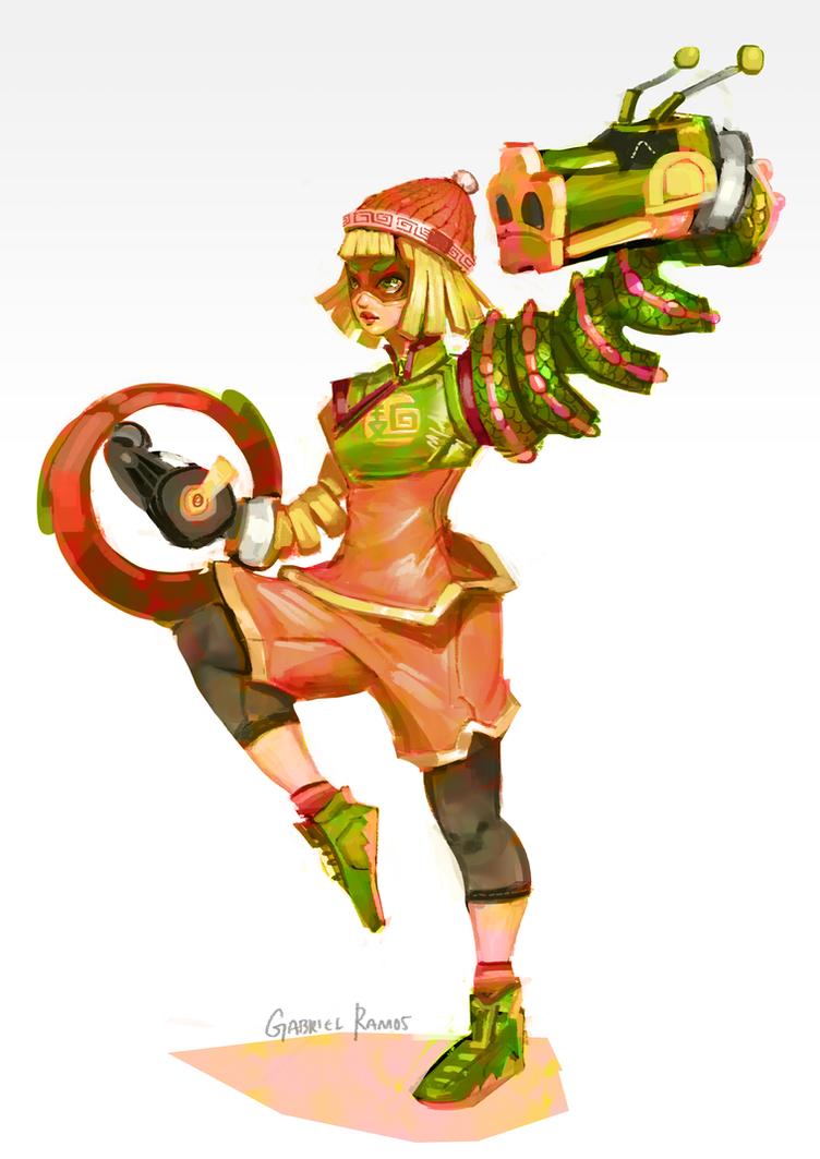 Arms twintelle min min and ribbon girl 3d futa porngamedevilcom - 3 8