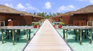 Bungalow des maldives