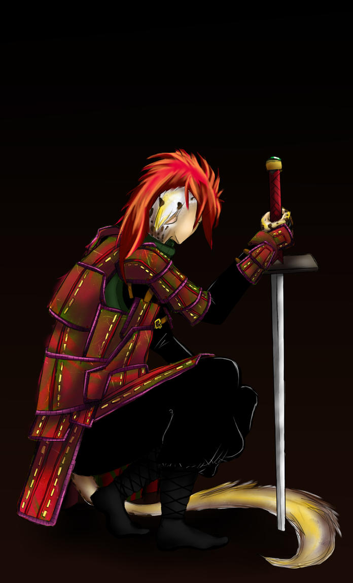 Samurai by zk-vkei