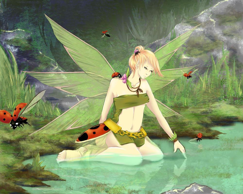 Ladybug Forest by zk-vkei