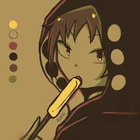 Shuuya Kano | Mekaku City Actors | Color Palette by Ayachiichan
